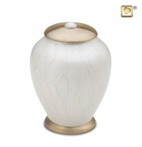 Simplicity Pearl Large Pet Cremation Urn