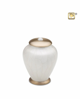 Simplicity Pearl Small Pet Cremation Urn