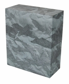 Simplicity Slate Gray Biodegradable Cremation Urn