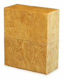 Simplicity Wood Grain Biodegradable Cremation Urn