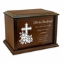 Slightly Blemished Design Your Own Eternal Reflections Wood Cremation Urn - 4 Sizes