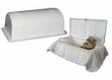 Small Heartfelt Child Infant Casket and Vault Combination