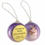 Snowman Memorial Holiday Tree Ornament