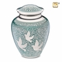 Soaring Doves Cremation Urn