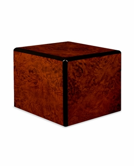 Society Burl Keepsake Wood Cremation Urn