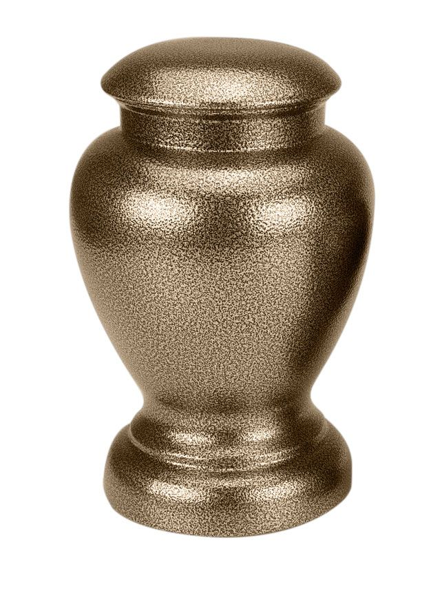 Large Special Steel Gold Vase Pet Cremation Urn