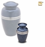 Speckled Indigo Keepsake Cremation Urn