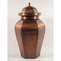 St Louis Custom Handcrafted Copper Cremation Urn