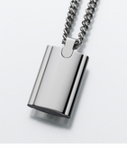 Stainless Steel Flask Necklace Cremation Jewelry