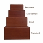 Extra Small Economy Mahogany Wood Cremation Urn
