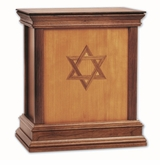 Star of David Cherry Hardwood Handcrafted Cremation Urn by WoodMiller