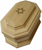 Star of David Cremation Urn in Radiata