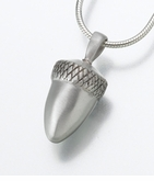 Sterling Silver Acorn Cremation Jewelry