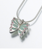 Sterling Silver Butterfly Cremation Jewelry