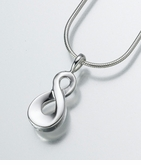 Sterling Silver Infinity Cremation Jewelry