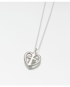Sterling Silver Love Cross Cremation Jewelry