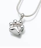 Sterling Silver Paw Cremation Jewelry
