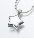 Sterling Silver Star Cremation Jewelry