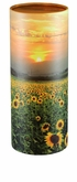 Sunflower Fields Eco Friendly Cremation Urn Scattering Tube in 2 sizes