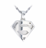 Super Sterling Silver Cremation Jewelry Pendant Necklace