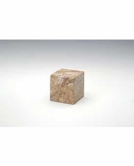 Syrocco Small Cube Cremation Urn - Engravable