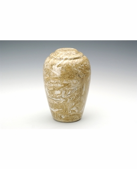 Syrocco Small Grecian Cremation Urn - Engravable