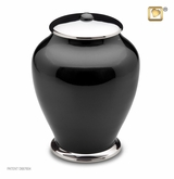 Tall Simplicity Midnight Cremation Urn