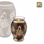 Tealight Candle Butterflies Keepsake Cremation Urn