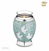 Tealight Candle Returning Home Doves Keepsake Cremation Urn