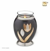 Tealight Candle Tulip Keepsake Cremation Urn