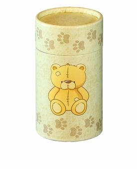 Teddy Bear Eco Friendly Cremation Urn Scattering Tube