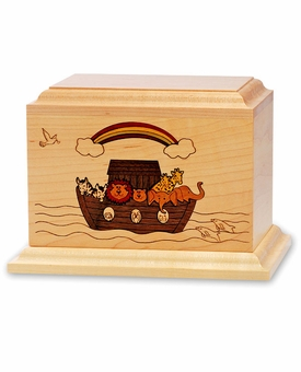The Ark - Wood Infant Cremation Urn - Engravable