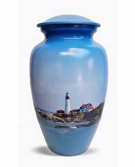 The Beacon Picture Cremation Urn