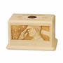 The Salute Military Maple Wood Cremation Urn