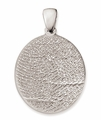 Thumbies 3D Fingerprint Sterling Silver Keepsake Memorial Pendant/Charm