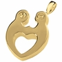 Together Forever Heart Double Compartment Pendant-S