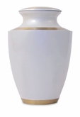 Trinity Pearl Brass Cremation Urn