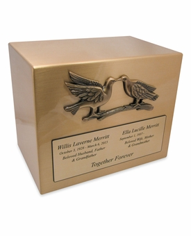 True Love Companion Cremation Urn