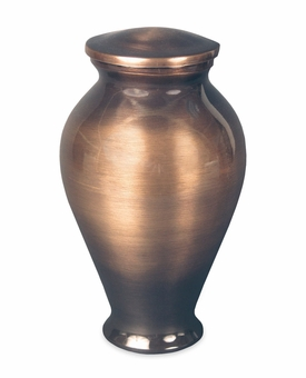 Twilight Contemporary Charcoal Vase Cremation Urn