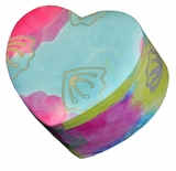 Unity Pastel Heart Biodegradable Cremation Urn