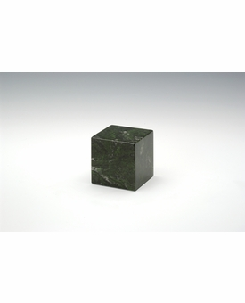 Verde Small Cube Cremation Urn - Engravable
