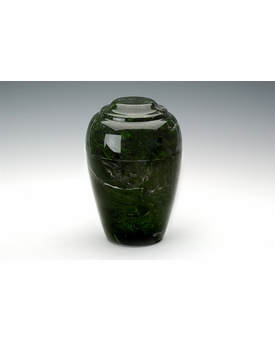 Verde Small Grecian Cremation Urn - Engravable