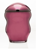Violet Family Collection Glass Cremation Urn