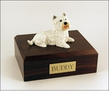 Westie Dog Figurine Pet Cremation Urn - 351