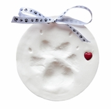 White Capture The Love Standard Clay Paw Print Kit for Pets