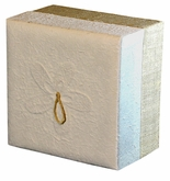 White Hemp Embrace Biodegradable Cremation Earthurn in 3 sizes