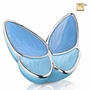Wings of Hope Blue Butterfly Cremation Urn