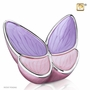 Wings of Hope Lavender Butterfly Cremation Urn