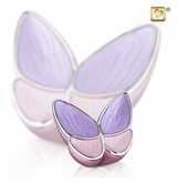 Wings of Hope Lavender Butterfly Keepsake Cremation Urn