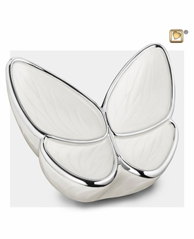 Wings of Hope Pearl Butterfly Cremation Urn